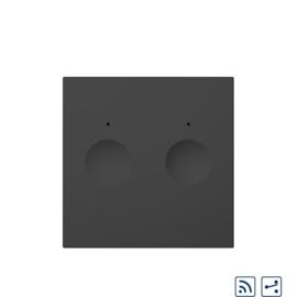 Livolo | Module | SR | Zwart | Wisselschakelaar | Tweevoudig | Afstandbediening