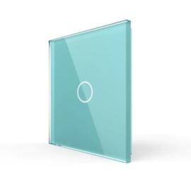Livolo | Groen glasplaat | Touchschakelaar | Enkelvoudig