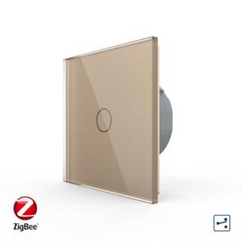 Livolo | Goud enkelvoudige | Wisselschakelaar | Zigbee/wifi app