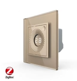 Livolo | SR | Goud | Temperatuur en Luchtvochtigheid sensor | Zigbee/wifi app