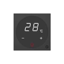 Livolo | Module | SR |  Zwart | Thermostaat schakelaar CV / Vloerverwarming