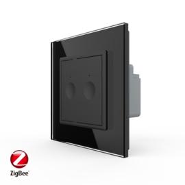 Livolo | SR | Zwart | Serieschakelaar | Zigbee/wifi app