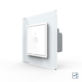 Livolo | SR | Wit | Enkelvoudige wisselschakelaar