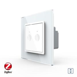 Livolo | SR | Wit | Rolluik schakelaar | Zigbee/wifi app
