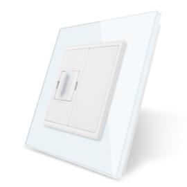 Livolo | HDMI aansluiting enkelvoudig | Wit