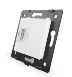 Livolo | Module | SR | HDMI aansluiting enkelvoudig | Wit