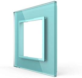 Livolo | Groen glasplaat | SR | Enkelvoudig