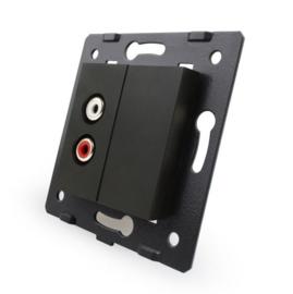 Livolo | Module | SR | Audio Speaker enkelvoudig | Zwart