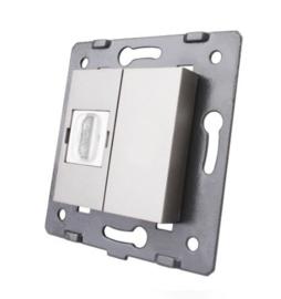 Livolo | Module | SR | HDMI aansluiting enkelvoudig | Grijs