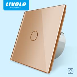 Livolo | Goud enkelpolig | Dimmer