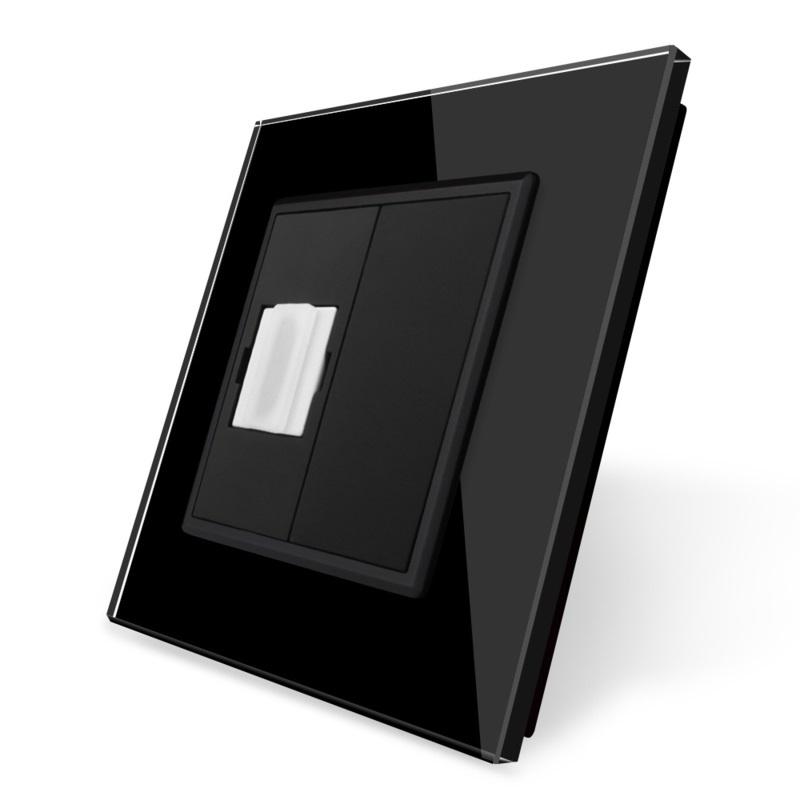 Livolo | HDMI aansluiting enkelvoudig | Zwart