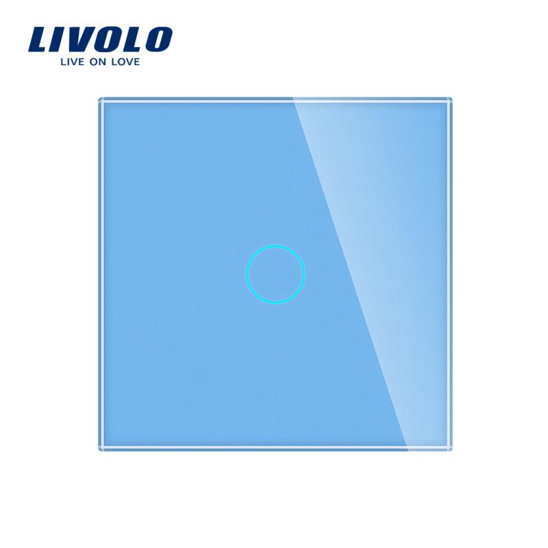 Livolo | BLauw | Enkelpolige schakelaar