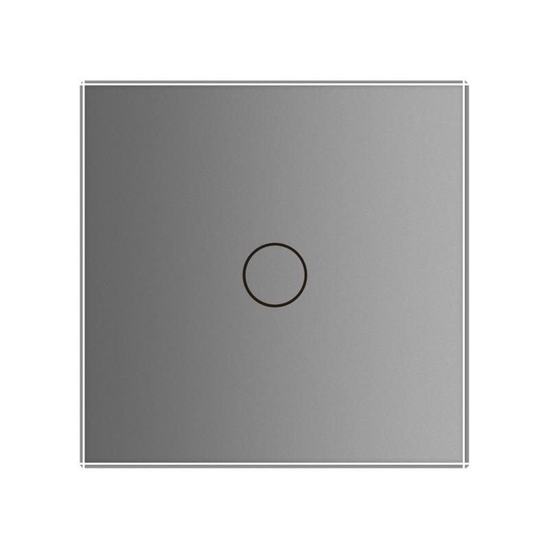 Livolo | Grijs | Touchschakelaar | Enkelvoudig