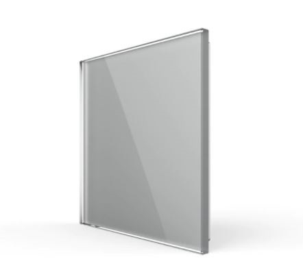 Livolo   Glasplaat   Blindplaat   Grijs
