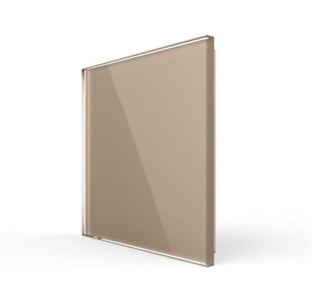 Livolo   Glasplaat   Blindplaat   Goud