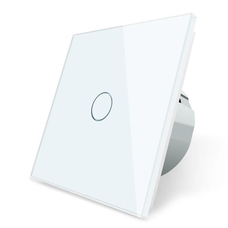 Livolo | Wit | Enkelpolige schakelaar | Zigbee/wifi app