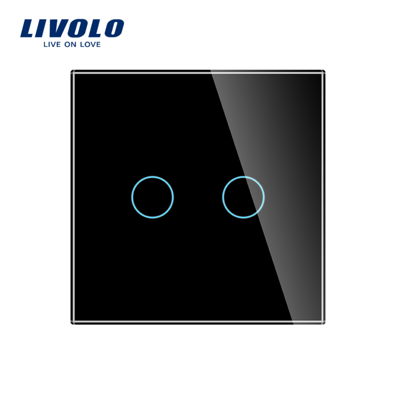 Livolo | Zwart | Serieschakelaar