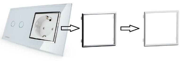 Livolo | Frame | Chrome