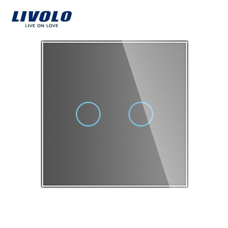 Livolo | Grijs | Serieschakelaar