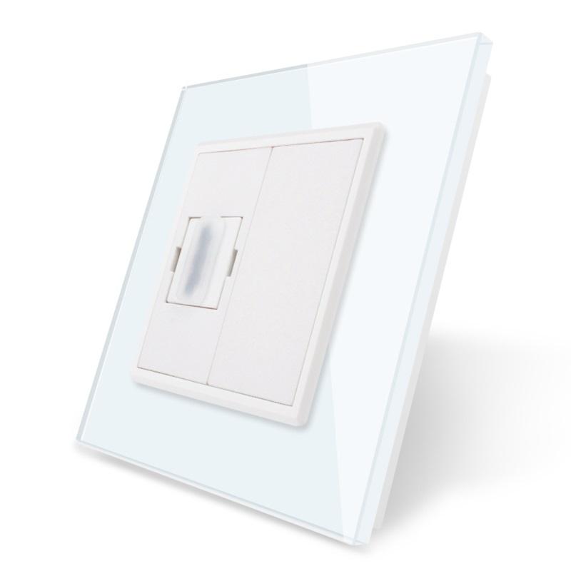 Livolo   HDMI aansluiting enkelvoudig   Wit