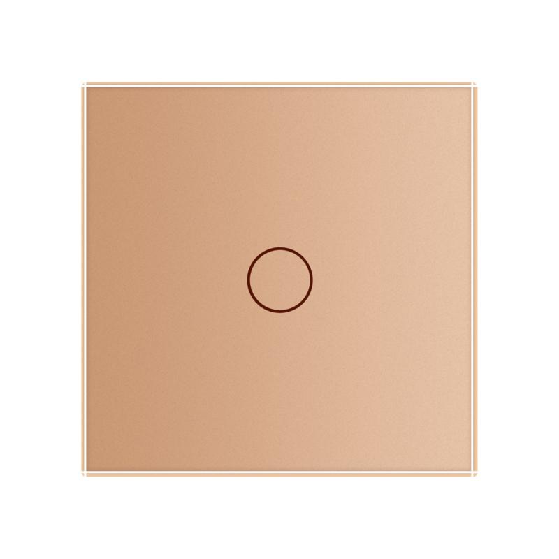 Livolo | Goud | Touchschakelaar | Enkelvoudig