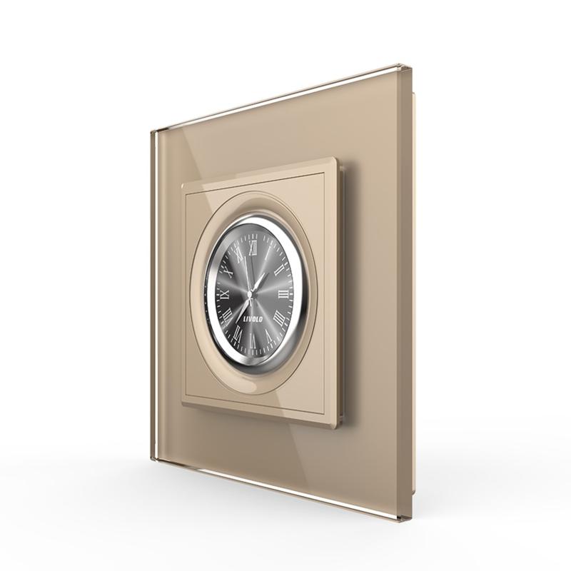 Livolo | Design Klok | Goud