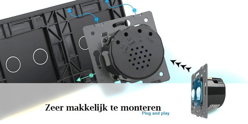 2+2+2 zwart plug and play schakelaar touch livolo.jpg