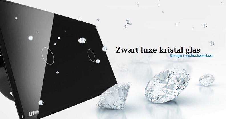 Livolo touchschakelaar 1+1 zwart kristal glas.jpg