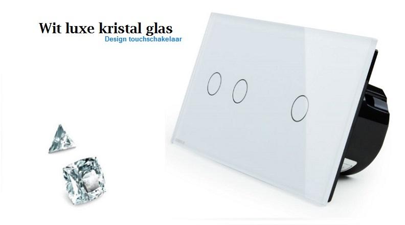 Livolo touchschakelaar wit luxe kristal glas 2+1.jpg