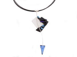 Crystal Open Black and Blue