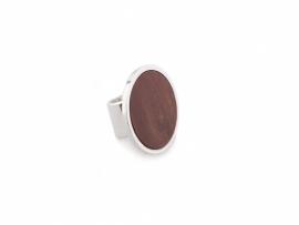 Framed Jasper Ring
