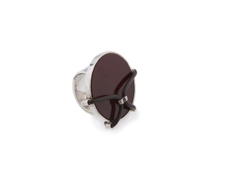 Bonded Carnelian Ring