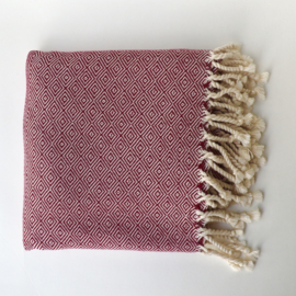 Towel Nikiboko Large - burgundy