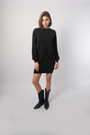 Classic sweaterdress Rebelz - black