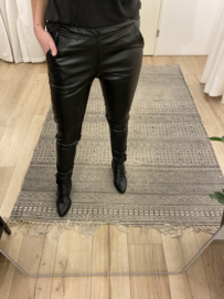 Leather jog pants 2.0 Rebelz - black