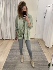 Embroidery jacket 2.0 - green