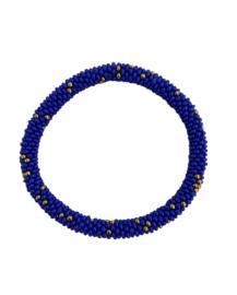 Roll on bracelet Loffs - cobalt