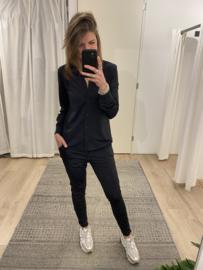 Travel blouse Azzurro - black
