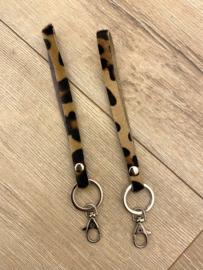 Key chain - panter brown