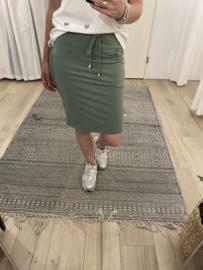 Travel skirt Azzurro - army green