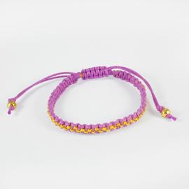 Woven bracelet Loffs - purple