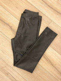 Leatherlook legging Norfy - black
