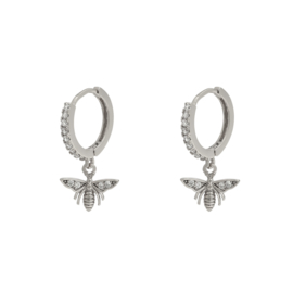 Earrings Wealthy Wasp - silver