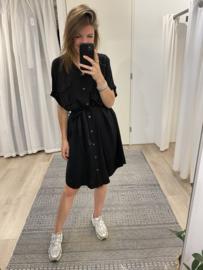 Blouse ceintuur dress 2.0 - black