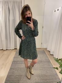 Cotton print dress Azzurro - green