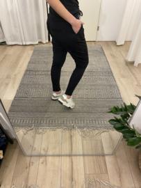 Travel pants Azzurro - black