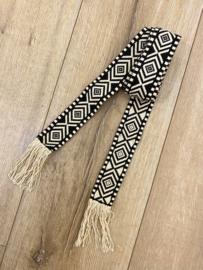 Boho belt - black