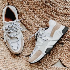 DWRS Label Los Angeles sneakers - wit / beige