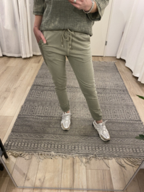 Jog pants 2.0 - army green