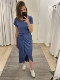 Overlay dress - blue